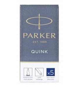 Parker-Naboje z atramentem Quink-granatowy 5 szt